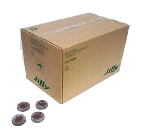Jiffy-7 Peat Pellets Round 42mm x 1000pcs - Bulk Buy - Propagation & Seedling