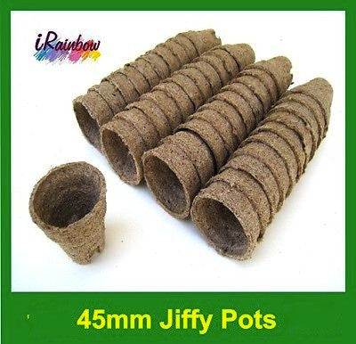 45mm Jiffy Round Pot - Garden Plant Propagation, Cutting, Seedling, Herbs