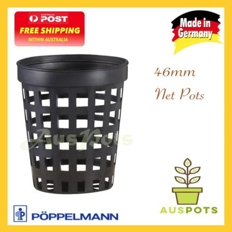 46mm Net Pots - Orchids / Vandaceous/ Hydroponics - Made in Germany / Teku