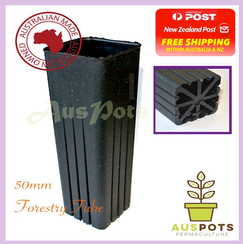 50mm Square Forestry Tube x 180pcs
