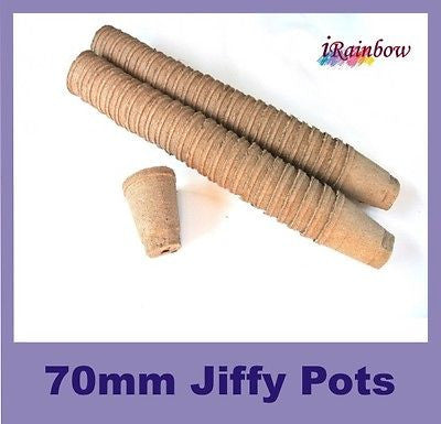 70mm Jiffy Round Pot - Garden Plant Propagation, Cutting, Seedling, Herbs