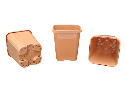 85mm Squar Plant Pots(Clay)