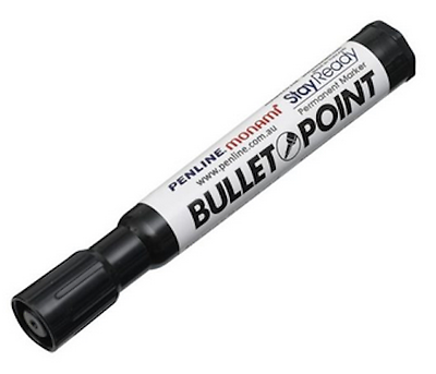 Permanent Marker Black / Waterproof and Fade Resistant