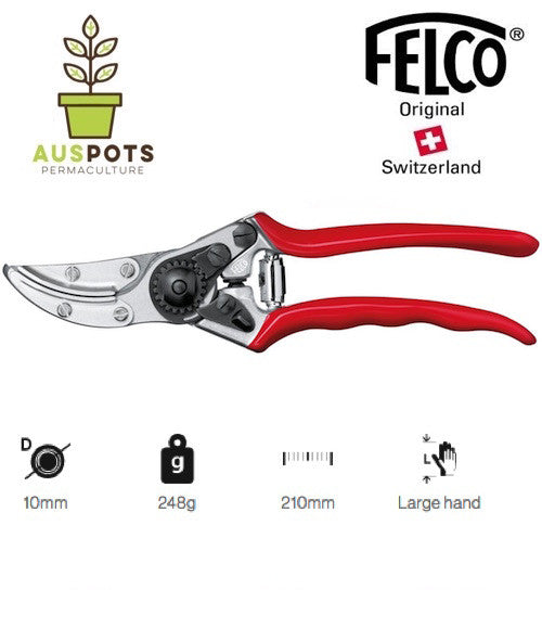 FELCO 100 - Special Application | Cut & hold Roses and Flowers Pruning Shear