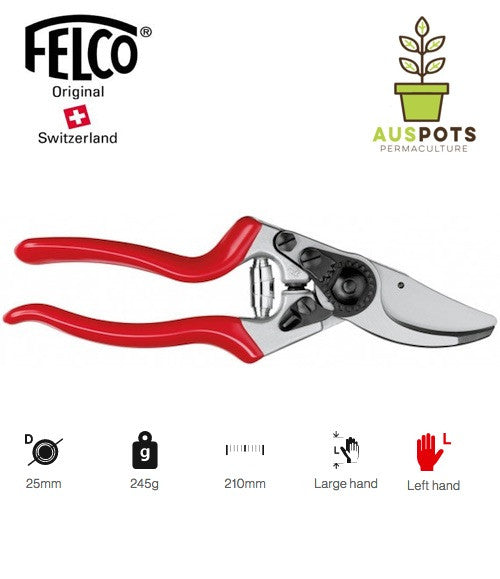 FELCO 9 Pruning shear for LEFTIES