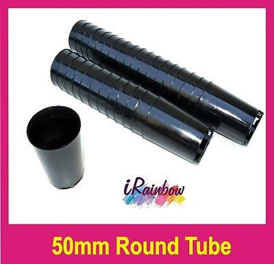 Plastic Tube / Pot Round 50mm - Great for Propagation, Seedings, Cuttings, Herbs - AusPots Permaculture