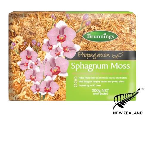 Sphagnum Moss - Premium Grade  - Helps to retain water & nutrients in pots