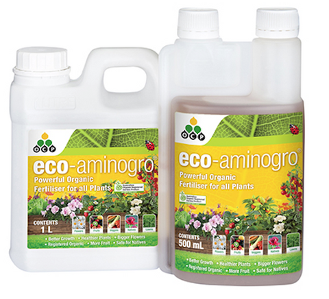 Eco-Aminogro - Organic Liquid Fertiliser