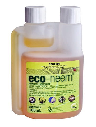 Eco-Neem Registered Organic Insecticide, Mites Killer, Concentrated