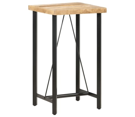 Tabouret de bar en manguier