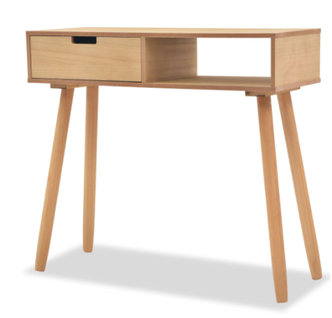 Console table pin massif