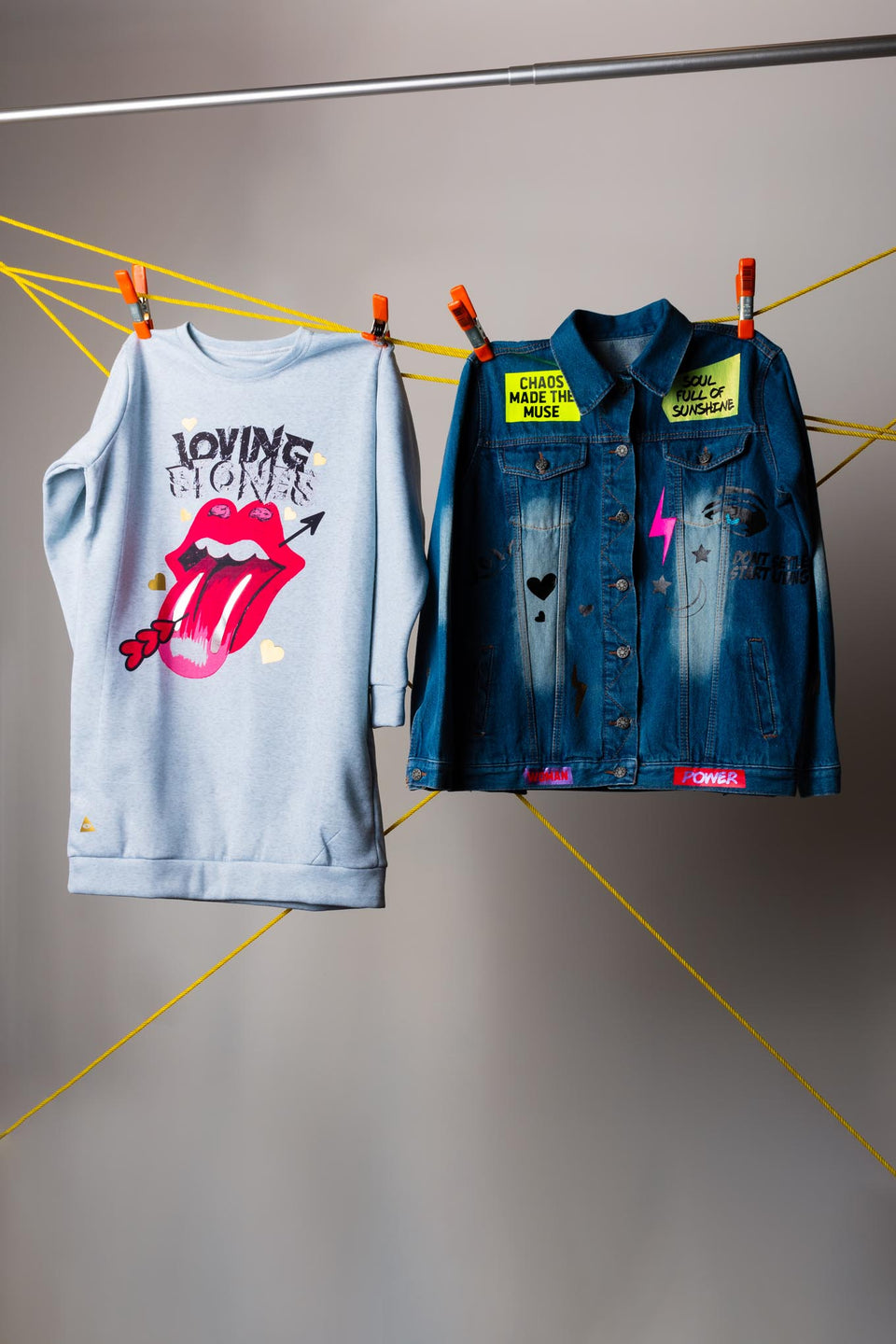 Vzla Collage Denim Jacket