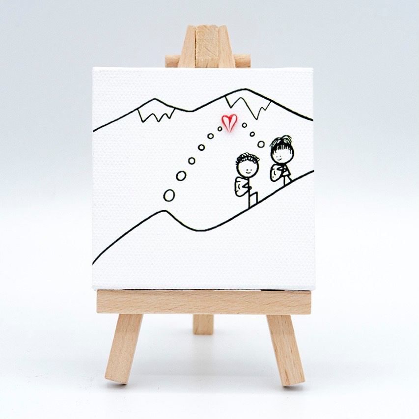 Molehill Mountain Canvas
