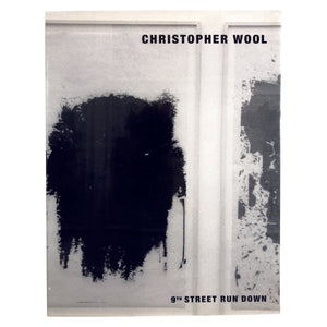 CHRISTOPHER WOOL - tailor books