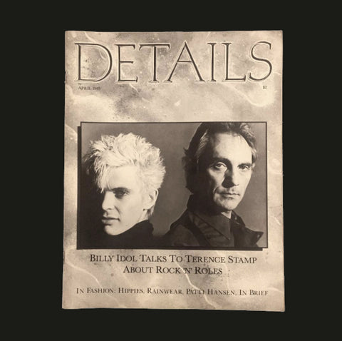 DETAILS MAGAZINE / Billy Idol Talks to Terence Sta