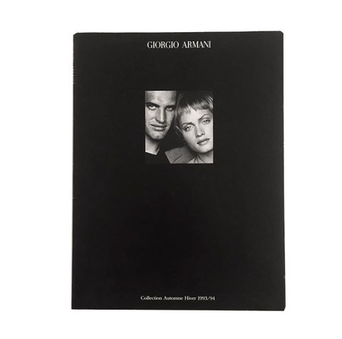 GIORGIO ARMANI by Peter Lindbergh - tailor books
