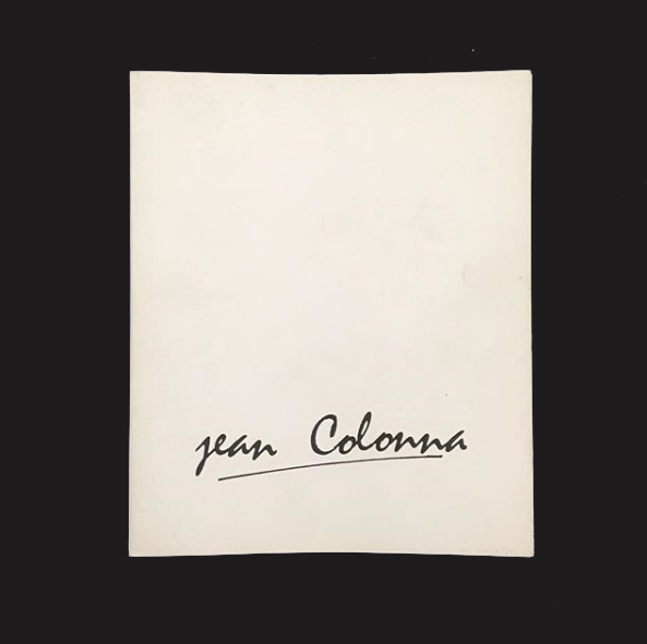 JEAN COLONNA by Bettina Rheims - tailor books