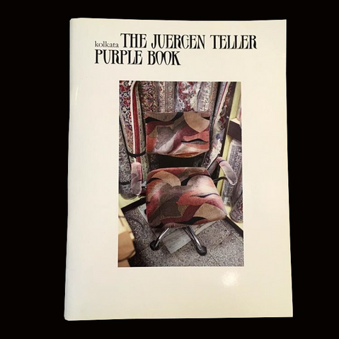KOLKATA - The Juergen Teller Purple Book - tailor books