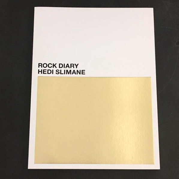 HEDI SLIMANE / Rock diary - tailor books