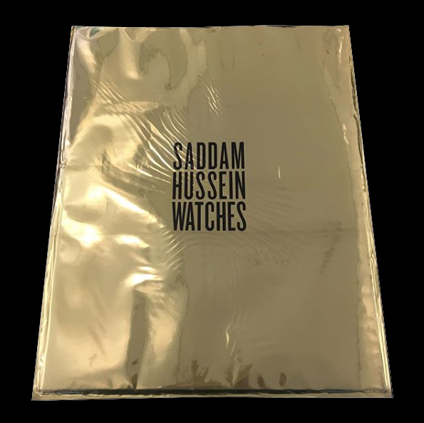 SIMON DENTON / Saddam Hussein Watches - tailor books