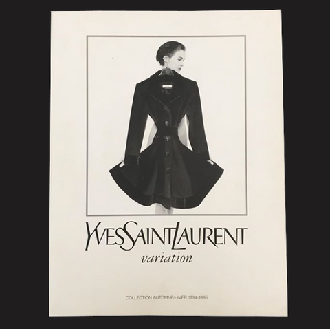 YVES SAINT LAURENT by JEAN-BAPTISTE MONDINO / Variations - tailor books