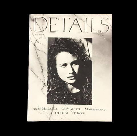 DETAILS MAGAZINE - June 1984 - tailor books