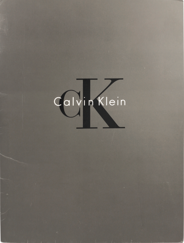 CALVIN KLEIN - tailor books