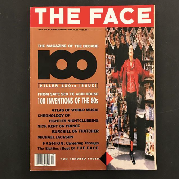 The Face #100 - tailor books