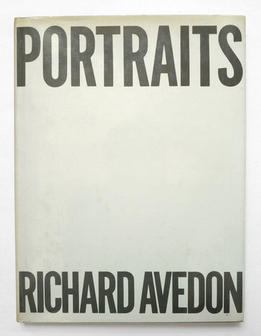 RICHARD AVEDON - Portraits - tailor books