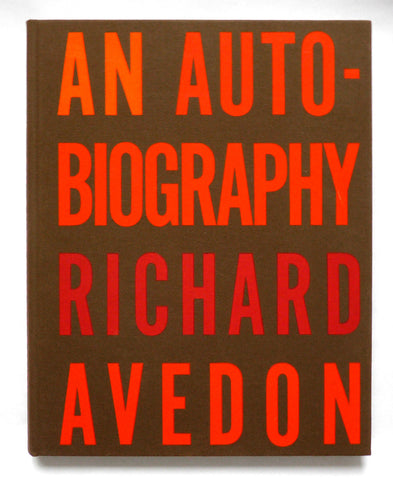Richard Avedon - An autobiography - tailor books