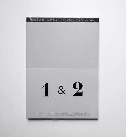MARTIN MARGIELA / Street Special 1 & 2 - tailor books