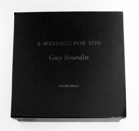 GUY BOURDIN / A message for you - tailor books