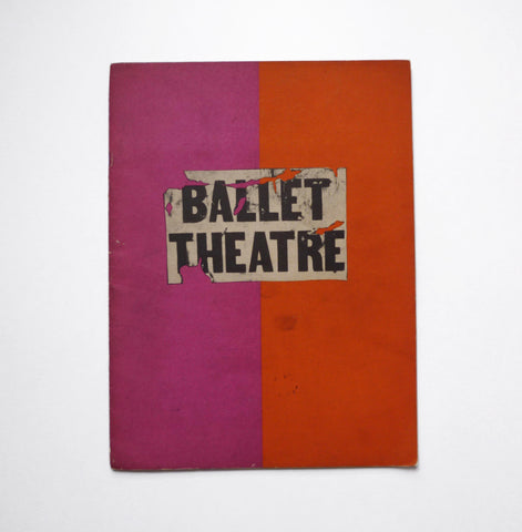 RICHARD AVEDON - ALEXEY BRODOVITCH / Ballet Theater - tailor books