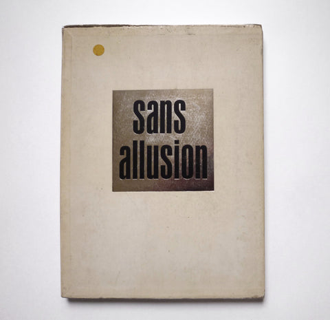 RICHARD AVEDON - JAMES BALDWIN / Sans Allusion - tailor books