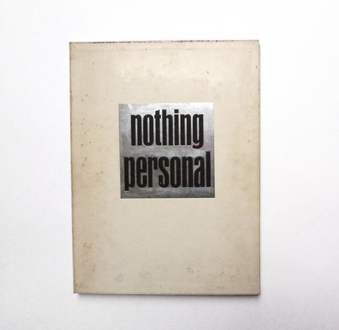 RICHARD AVEDON - JAMES BALDWIN / Nothing Personal - tailor books
