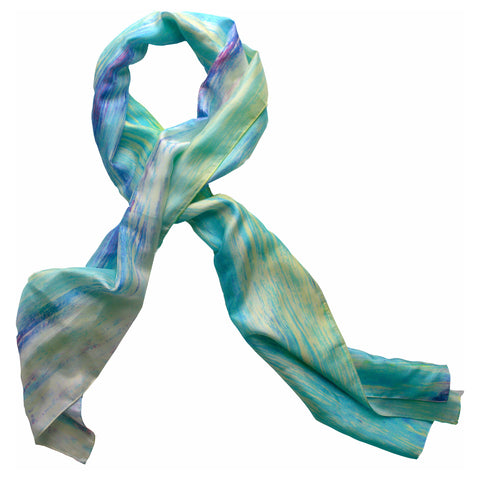 """Blue Haven"" Oblong Scarf"
