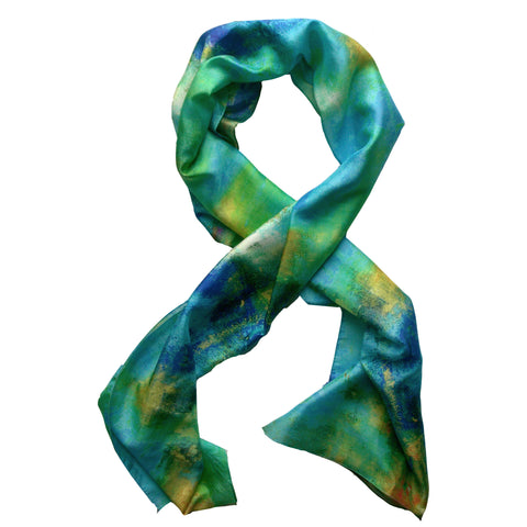 """Ocean Glory""  Oblong Scarf"