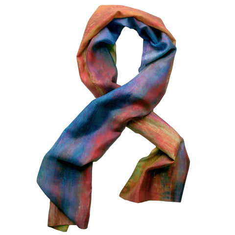 """Waking Up""  Oblong Scarf"