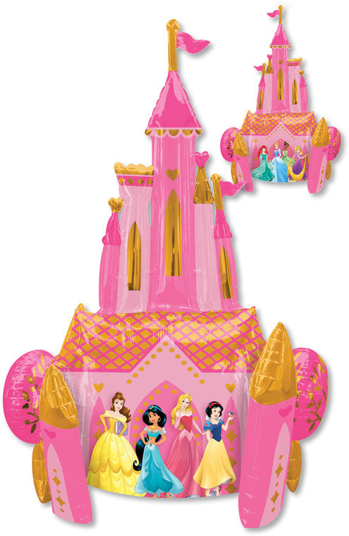 55 Inch - Airwalker Balloon - Disney Princess - Once Upon Time Balloon (with helium)