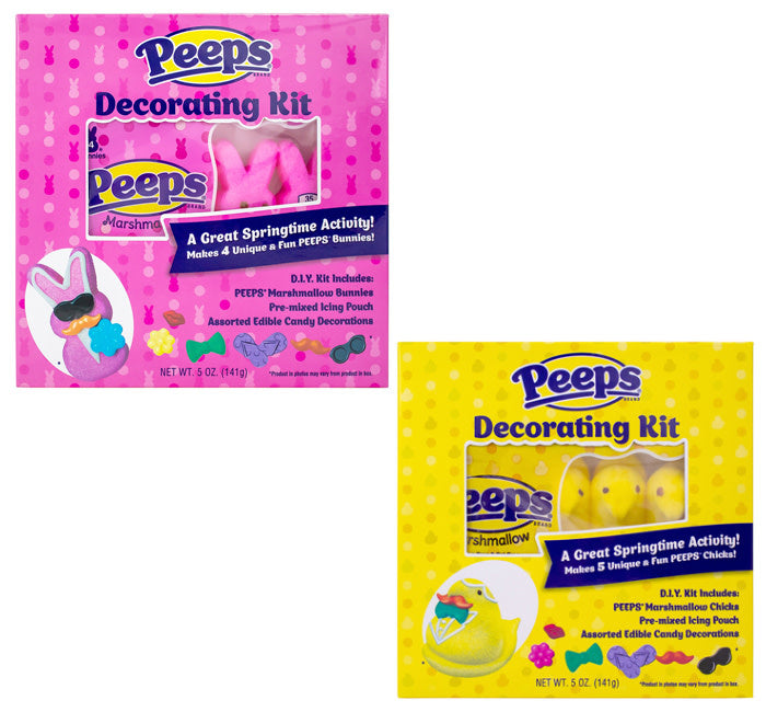 Peeps Decorating DIY Kits - 3 Chicks/3 Bunnies
