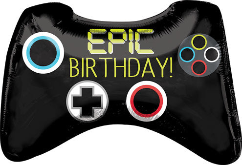 Birthday - Epic Game Controller Balloon (with helium)
