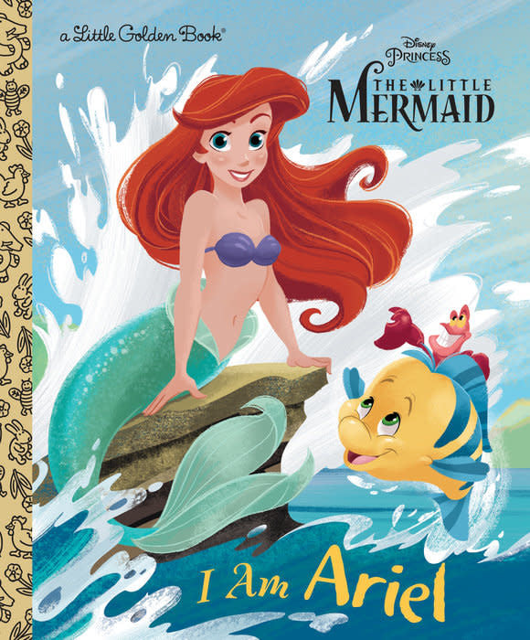 I Am Ariel - Little Golden Book