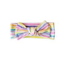 Load image into Gallery viewer, Sunrise Stripe - Bow Headband