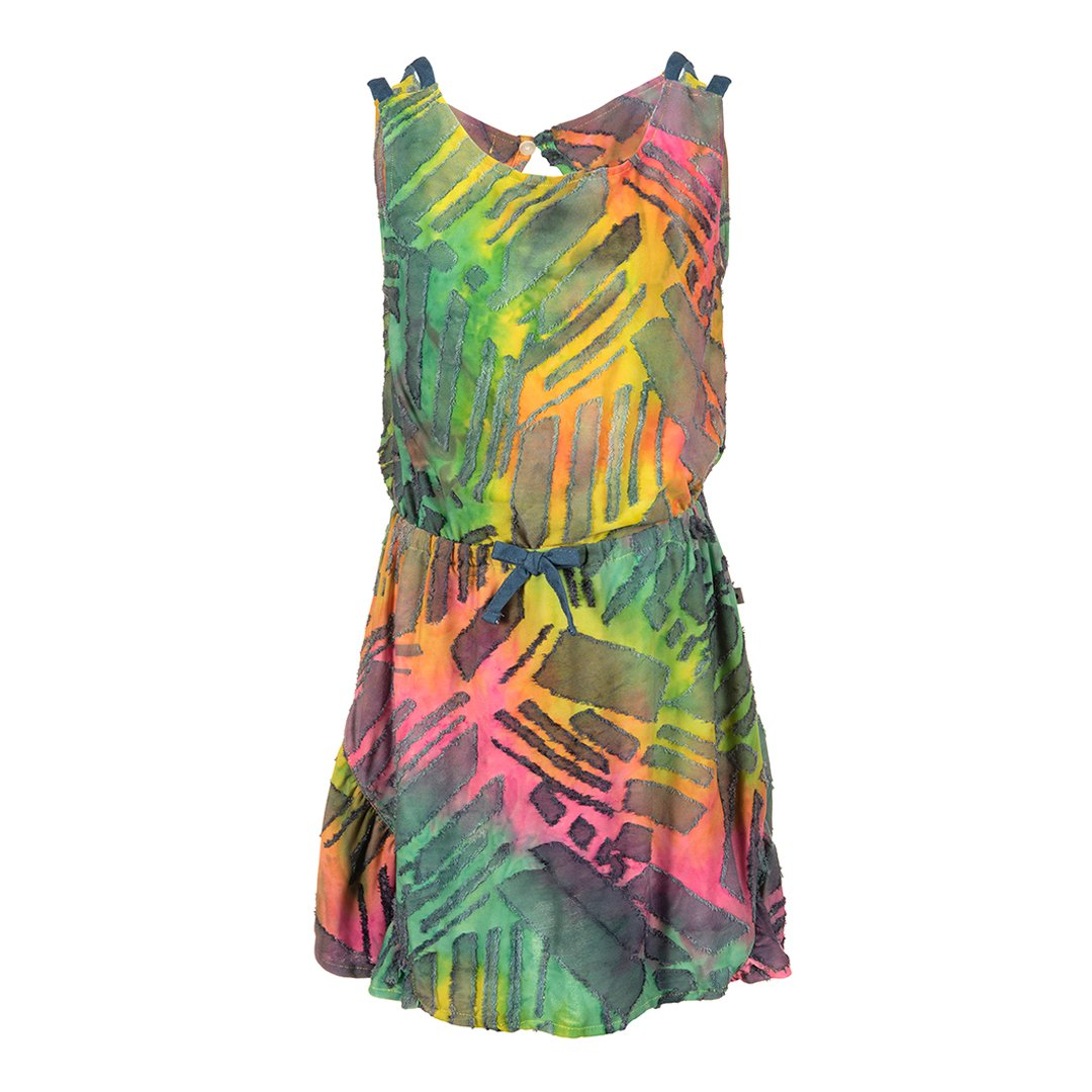 Tinos Dress Rainbow Ombre