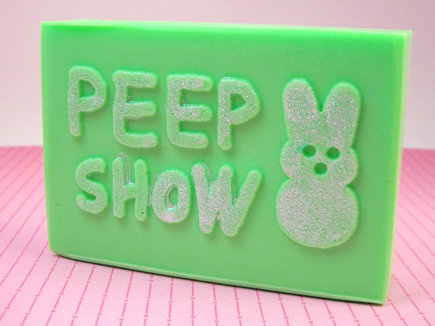 PEEP SHOW - Peeps Soap Bar (Chocolate Scented) - Purple