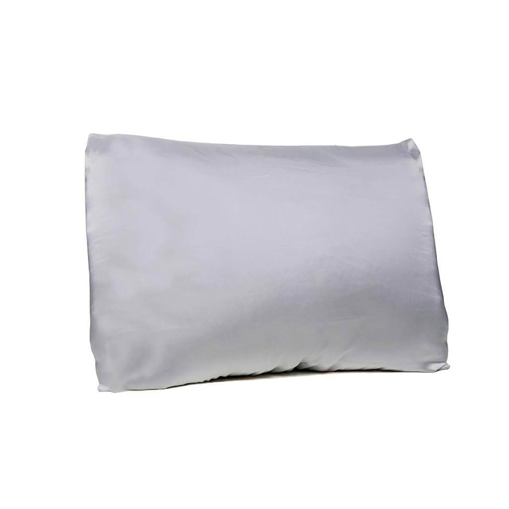 Satin Pillowcase with Envelope Closure - Gray