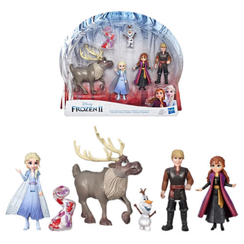 Frozen 2 Dolls - Small Dolls Adventure Collection 5-pack