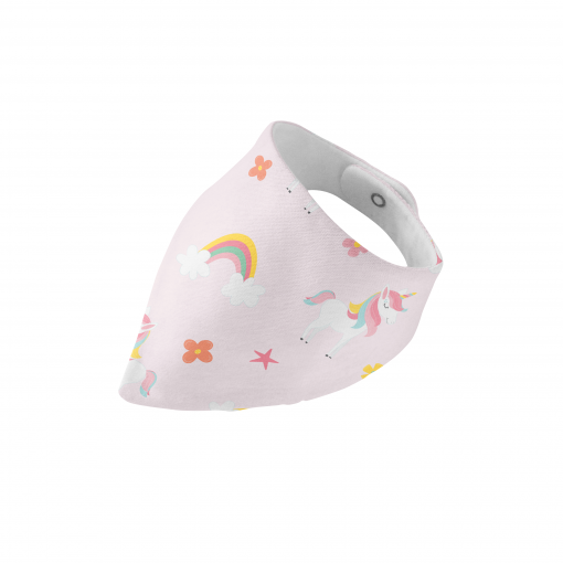 Ride A Unicorn - Organic Muslin Bib