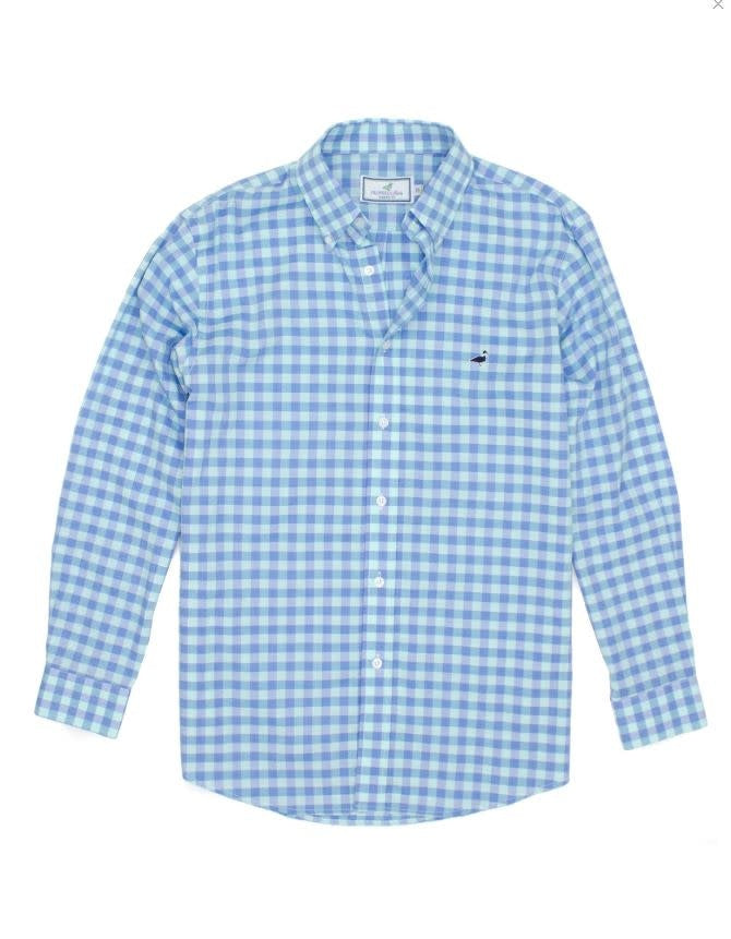 Seasonal Sportshirt Lagoon (Mens)
