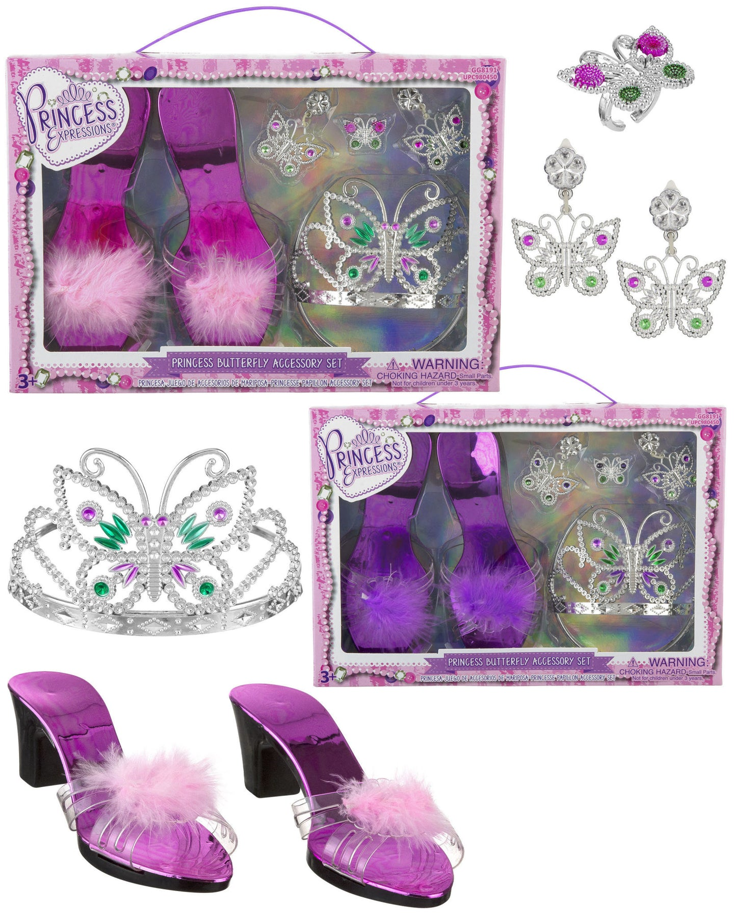 Princess Butterfly Accessory Set